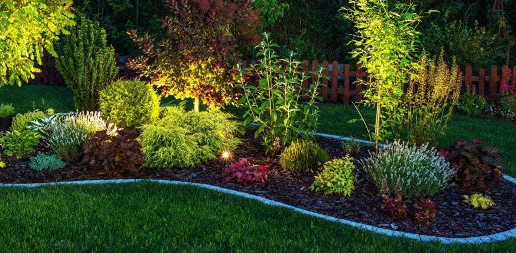 Landscaping put in by Scott's Lawn Care in Plymouth, Minnesota.